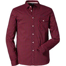 Schöffel Miesbach4 LG Camiseta Hombre, goje berry